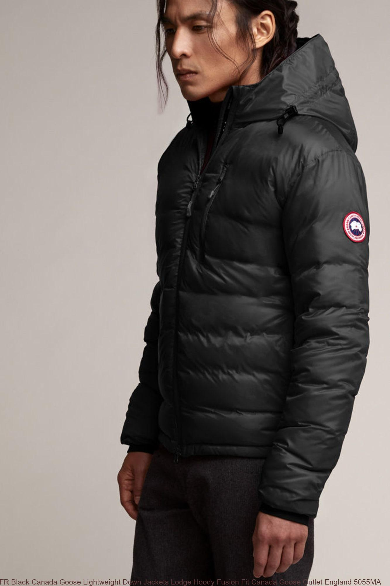 bd965a9935d5 FR Black Canada Goose Lightweight Down Jackets Lodge Hoody Fusion Fit Canada  Goose Outlet England 5055MA – Canada Goose UK Outlet  Cheap Canada Goose ...