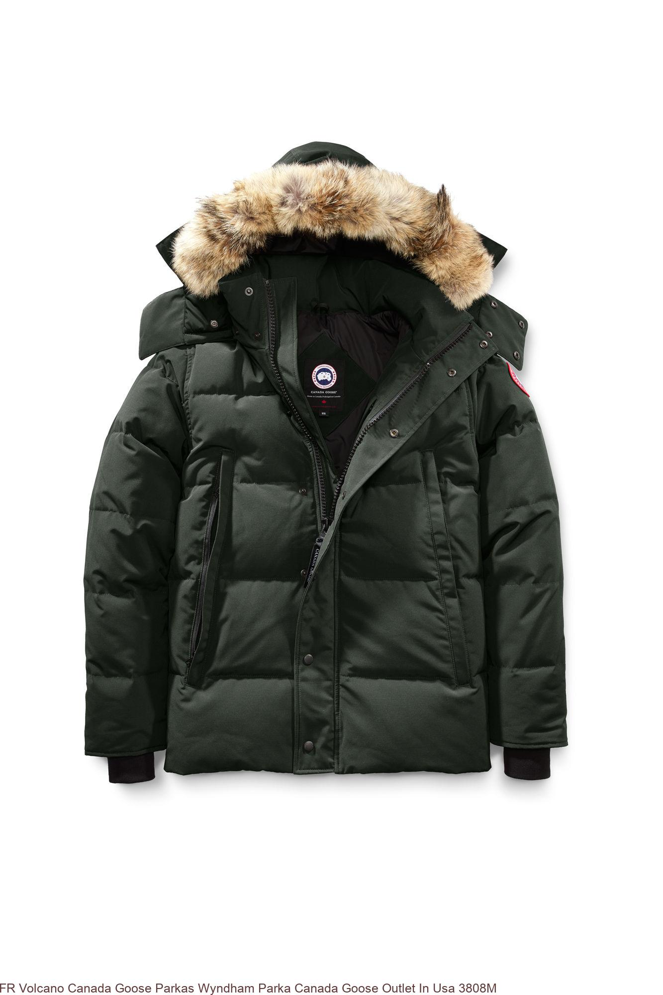 online store 50bb2 76bb2 FR Volcano Canada Goose Parkas Wyndham Parka Canada Goose Outlet In Usa  3808M